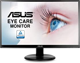 """Asus VA229HR 21.5"""" Monitor Frameless 1080P 75Hz IPS Eye Care HDMI VGA with 178° Wide Viewing Angle"""