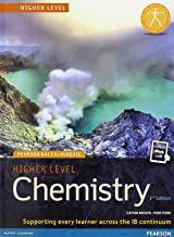 Pearson Baccalaureate Chemistry Higher Level 2nd edition print and online edition for the IB Diploma