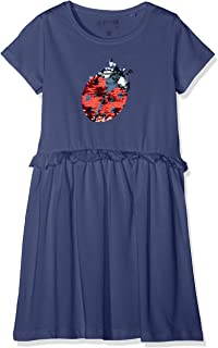 blue seven Wirkkleid, Rundhals Vestido para Niñas