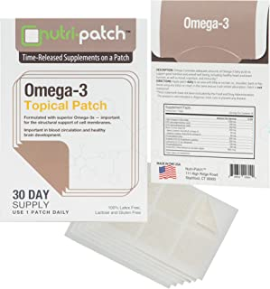 Omega-3 Topical Nutrient Skin Patch from NUTRI-PATCH®