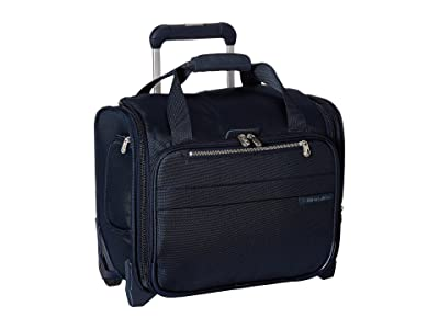 Briggs & Riley Baseline Rolling Cabin Bag (Navy Blue) Duffel Bags