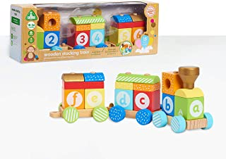 Early Learning Centre Wooden Stacking Train, Amazon Exclusive