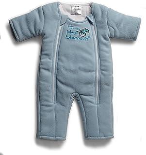 لباس خواب جادویی کودک مرلین - محصول انتقال Swaddle - میکروفل - آبی - 3-6 ماه
