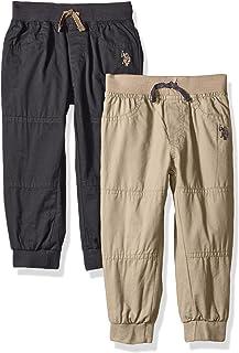 U.S. Polo Assn... - Pantalones de Forro Polar para niño (2 Unidades)