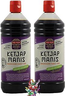 yoaxia ® Marke - 2er Pack -  2x 1000ml  GO TAN Ketjap Manis