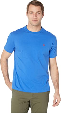 Short Sleeve Classic Fit Crew Neck Tee