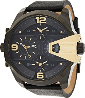 Diesel Men's Uber Chief Multi-Movement Watch with Aviation Inspired crownguard