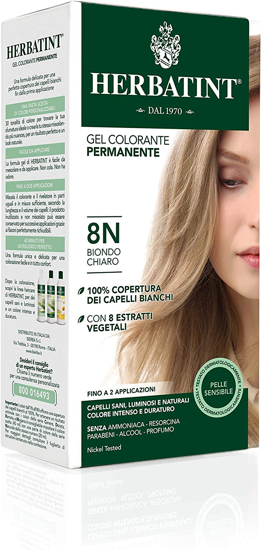 Phytoceutic Herbatint 8N/Rubio Oscuro Gel Permanent 120 ml ...