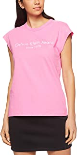 Calvin Klein Women's 30'S Single Tee