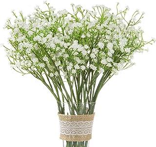comprar comparacion Comius Sharp 12 Piezas Plantas Artificiales Gypsophila, Flores Artificiales Falsos, Artificial Gypsophila Paniculata Flor ...