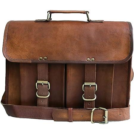 Luxus Echtleder Handtasche Herren Schulter Tasche Umhängetasche Solid Messenger