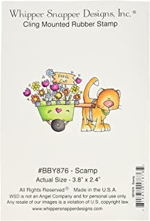 4 by 6 Red by Whipper Snapper Designs Whipper Snapper Designs CY797 Frick Cling Stamp