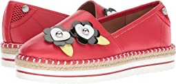 LOVE Moschino - Faux Leather Espadrille