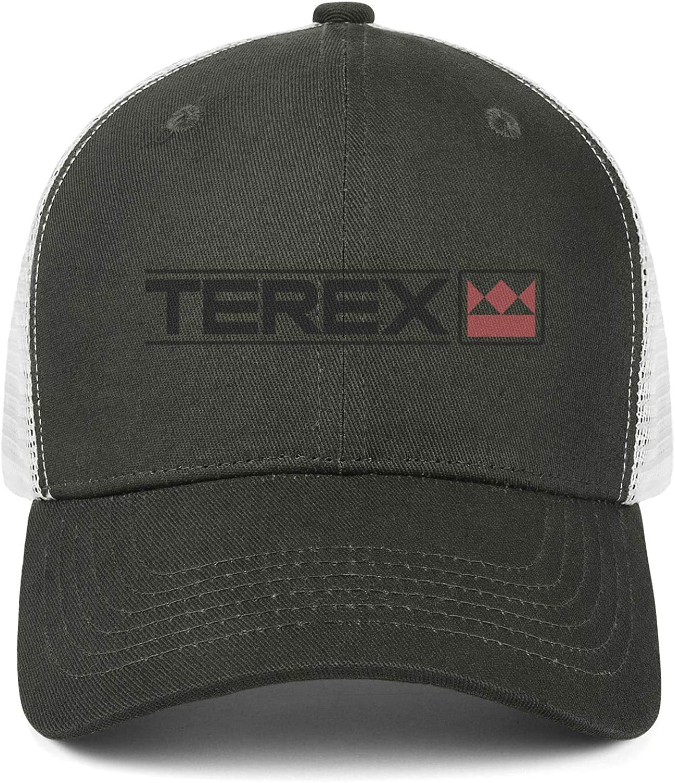 DRTGRHBFG Unisex Womens Man Retro Baseball Hats Adjustable Mesh Dad Flat Cap