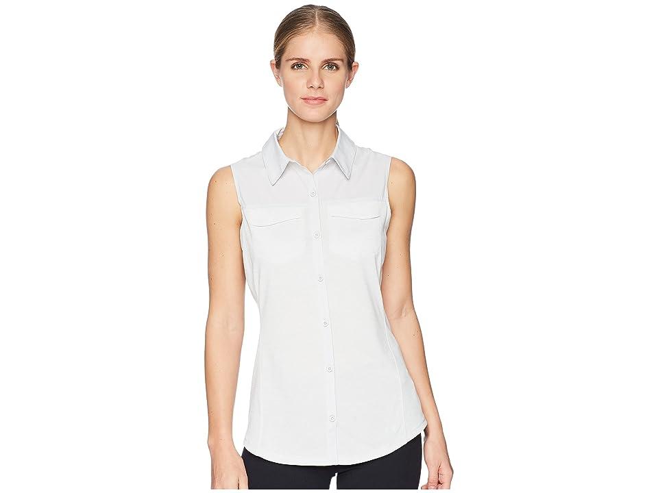 Under Armour UA Threadborne Fish Hunter Hybrid Sleeveless Shirt (Elemental/White/Elemental) Women