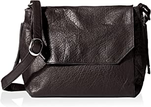 DAY & MOOD Women's Clive Satchel, Black