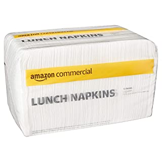 AmazonCommercial - 17 Lunch Napkins, 250 Napkins per Pack, 12 Packs