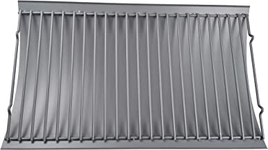 Wondjiont Aluminized Ash Pan with Steel Wire Grate(12.8125 x 20.375 inches)