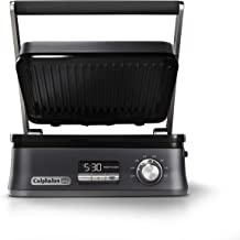 Calphalon Even Sear Indoor Electric Multi-Grill, Dark Stainless Steel