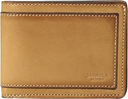 Shinola Detroit - Layered Slim Bifold 2.0 Outlaw