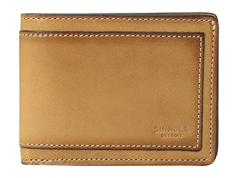 Shinola Detroit Layered Slim Bifold 2.0 Outlaw