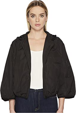 RED VALENTINO - Taffetas Tech Bomber