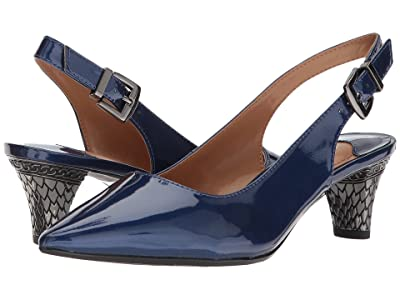 J. Renee Mayetta (Navy) High Heels