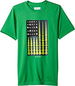 Columbia Kids Badge N' Flag Short Sleeve Shirt (Little Kids/Big Kids)