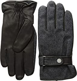 Wool Melton Hybrid Gloves