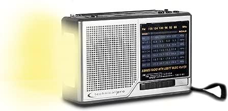 Technical Pro AM/FM/SW Radio Portable Speaker