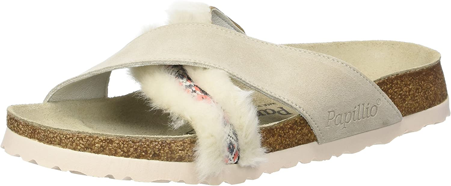 Daytona Suede Leather Fur Cozy Off White