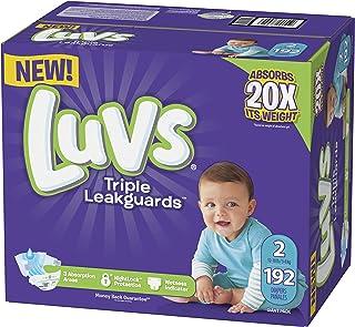 Luvs Luvs Triple leakguards Diapers Size 2 192 Count, 192 Count