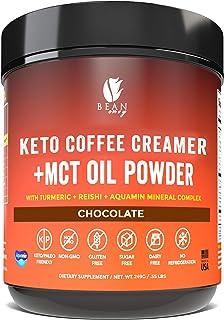 Bean Envy Keto Coffee Creamer - Coconut Milk Powder + MCT Oil Powder - Superfood Blend for Energy & Immunity Boost. Perfec...
