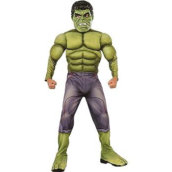 Rubies Disfraz Oficial de Marvel Ragnarok Hulk niños, Color 0 ...