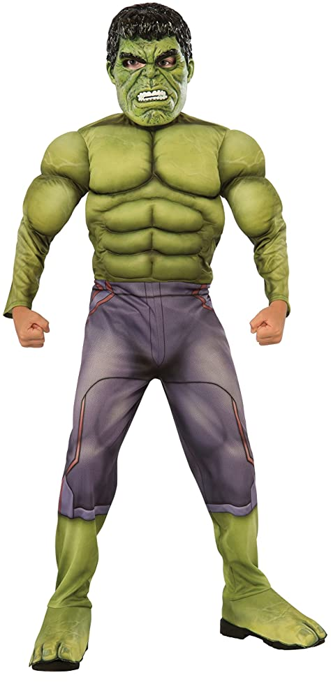 Rubie's Thor: Ragnarok Child's Deluxe Hulk Costume, Large lqn830908741114