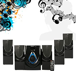 FLEXY® Germany 5.1 Channel 8500W PMPO Home Theater Sytem With Remote, Bluetooth, USB/Card And FM Radio