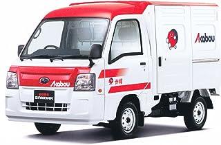 青島文化教材社 1/24 ザ・ベストカーGTシリーズ No.74 スバル 12 サンバートラック 赤帽車 プラモデル
