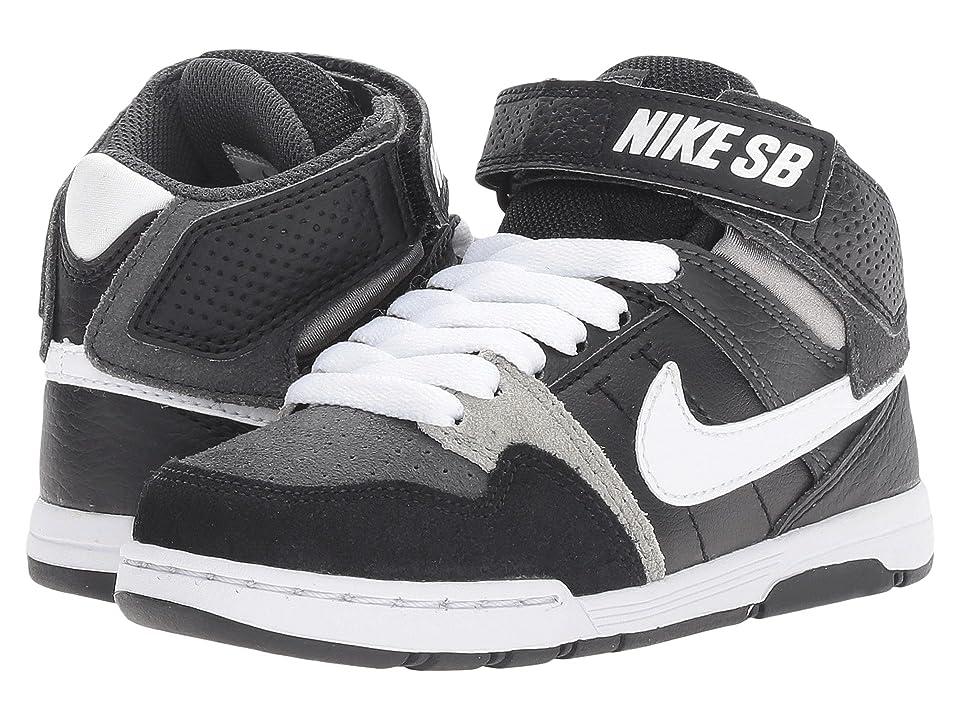 Nike SB Kids Mogan Mid 2 Jr (Little Kid/Big Kid) (Anthracite/White/Black/Mid Grey) Boys Shoes