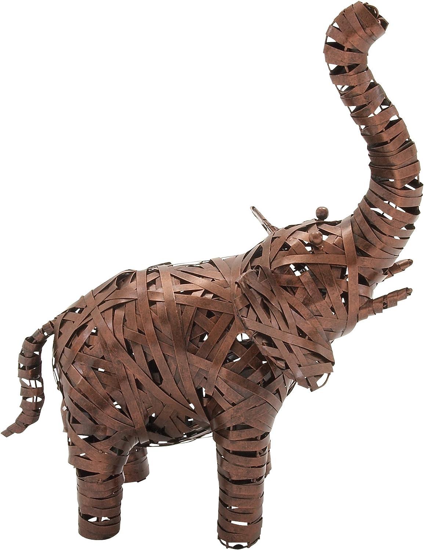 Benzara 55081 Remarkable Metal Elephant