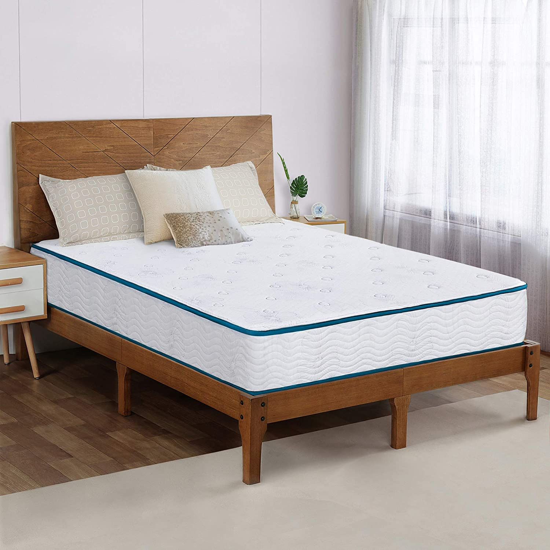 Olee Sleep 9 Inch Max 65% OFF Skyline Innerspring Hybrid Mattress Top Limited price sale Tight
