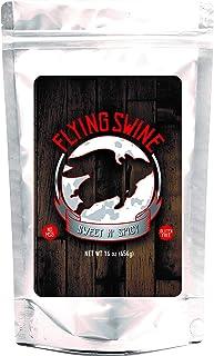 Flying Swine Sweet N' Spicy BBQ Rub 16 Oz - Award Winning Butt Rub Seasoning & Grilling Spices - Great for Smoking Meats, ...