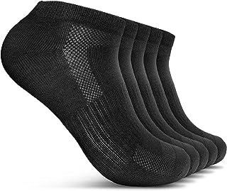 Calcetines de zapatillas 5 pares de botas para hombre y mujer 5 paquetes de calcetines cortos transpirables ligeros y cómodos