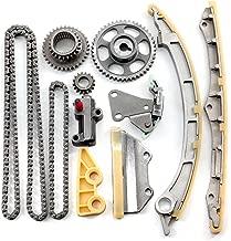 OCPTY Timing Chain Kit Tensioner Guide Rail Oil Pump Chain fits for 2003-2007 Honda Accord 2.4L K24A1 TS21831