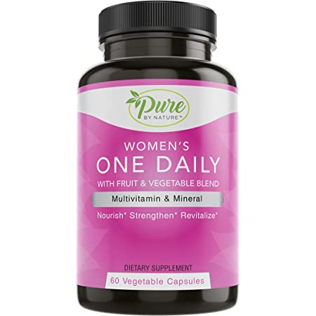 Pure By Nature One-Daily Multi-Vitamin for Women, 60 Count
