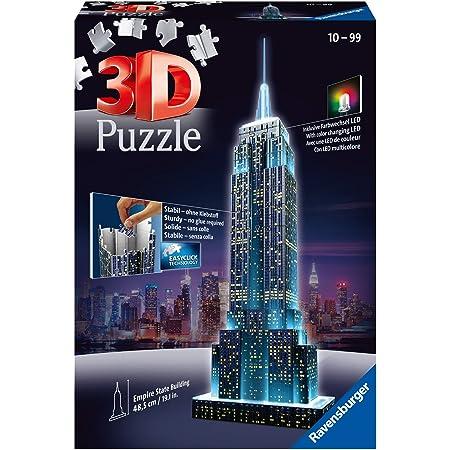 Ravensburger - Puzzle 3D - Building - Empire State Building illuminé - 12566
