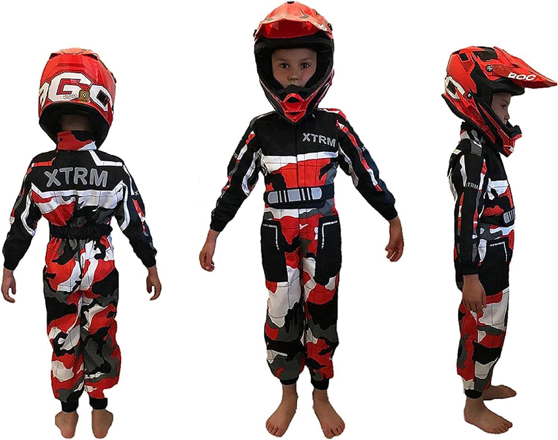 MTB MX fuoristrada XTRM motocross Tuta sportiva per bambini da corsa tuta sportiva da corsa per motocross quad enduro per bambini go-karting ATV BMX