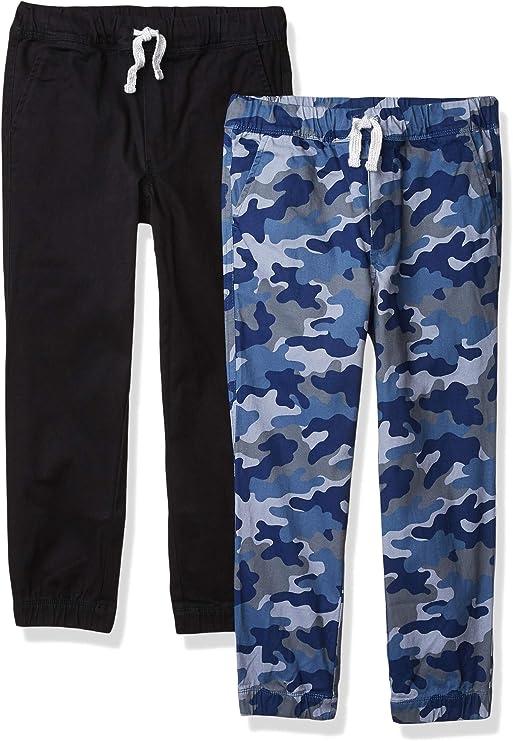 Essentials Lot de 2 Shorts tiss/és /à enfiler pour filles