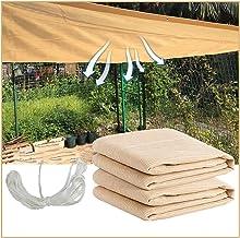 LIXIONG Zonnescherm Doek, Vetplanten Outdoor Zonbescherming Cool Down Stretch Resistance, Gebruikt voor Balkon Patio, Aang...
