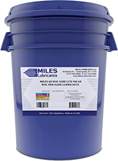 Miles Qs Way Lube Light ISO 68 Way and Slide Lubricant 5 Gallon Pail