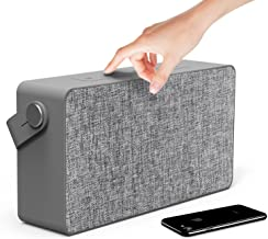 Photive M5 20 Watt Portable Wireless Bluetooth Speaker Stylish Hi-Fi Stereo with Built-in Hands-Free Microphone Powerful Subwoofer with Dual Drivers